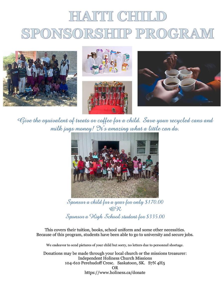 Haiti Child Sponsorship Program